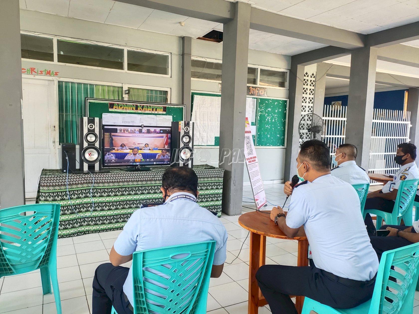 Kakanwil NTT Minta UPT Lain Susul Lapas Kupang Raih WBK