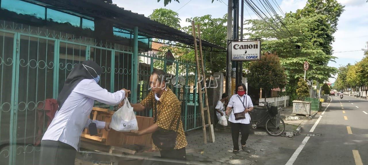 Sambut Idulfitri, Divisi Pemasyarakatan DIY Salurkan Bansos
