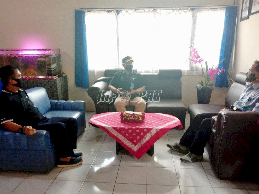 Jelang Penilaian TPI, Rutan Buntok Kedatangan Kakanwil Kalteng