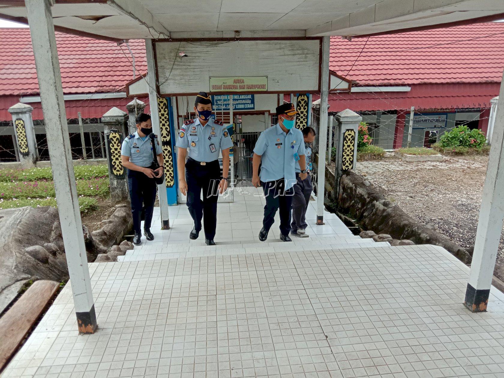 Kakanwil Kalteng Pantau Persiapan Lapas Muara Teweh Jelang Penilaian TPI
