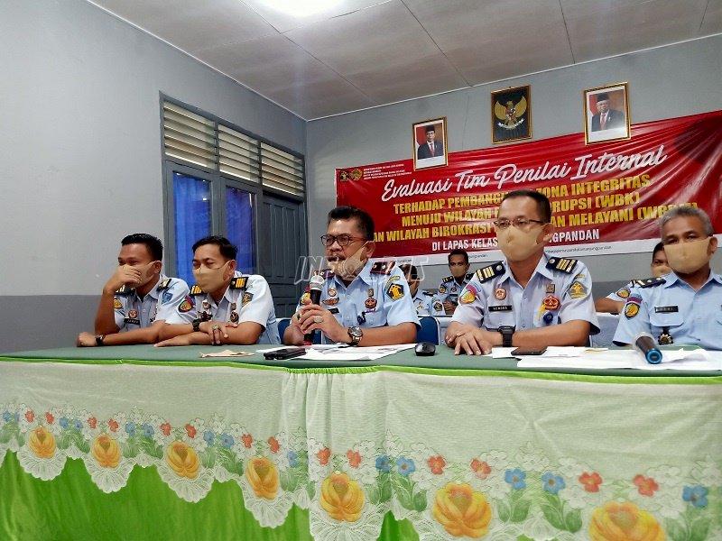TPI Puji Inovasi Layanan Publik Lapas Tanjungpandan