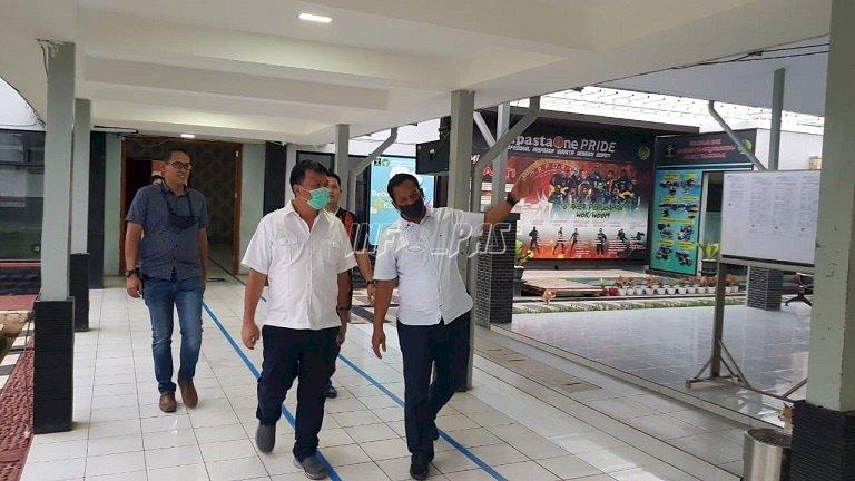 Kunjungi Lapas Tangerang, Dirjen PAS Tekankan Protokol Kesehatan & Pembinaan WBP