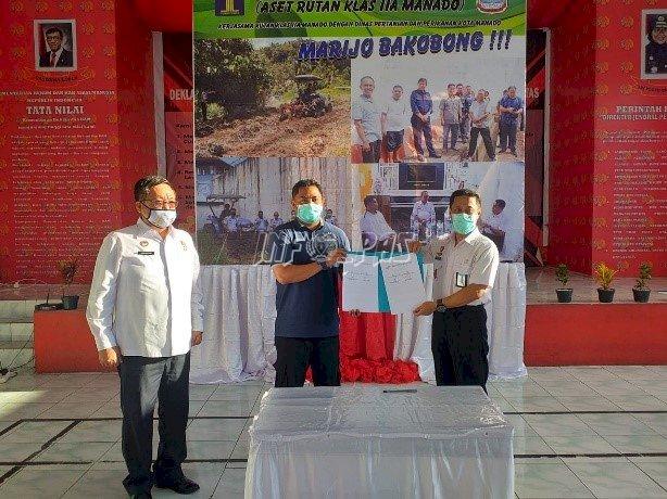 """Rutan Manado - Dinas PKP Sepakati Kerja Sama """"Marijo Bakobong"""""""