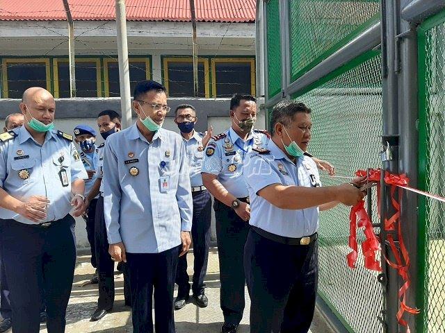 Peresmian Pintu Gerbang II Permudah Layanan Pemasyarakatan di Lapas Ambon