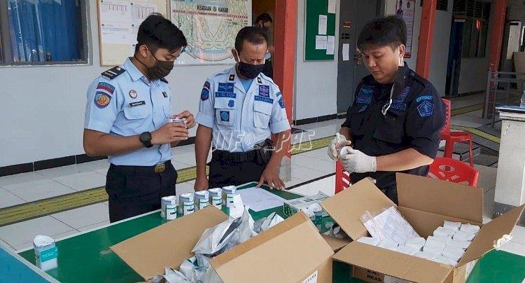 Petugas & WBP Rutan Bantaeng Dites Urin, Nihil Narkoba