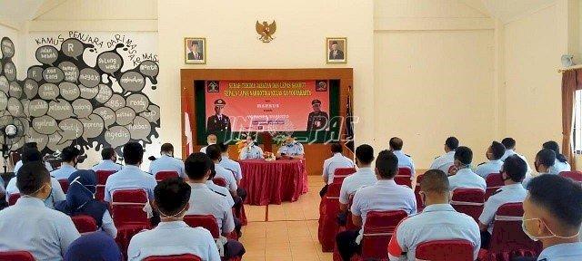 Kadiv PAS DIY Beri Pengarahan di LPN Yogyakarta