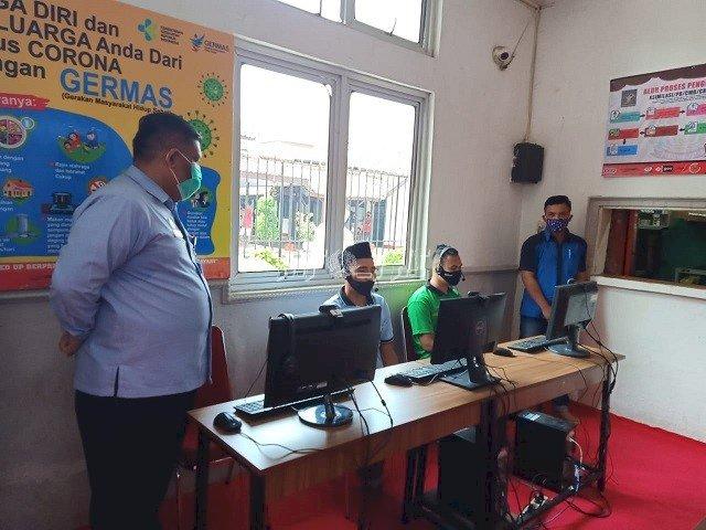 Inspeksi ke Lapas Rangkasbitung, Kakanwil Banten Ingatkan Protokol Kesehatan