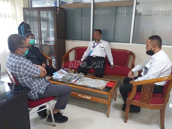 Kalapas Ambon Bangun Koordinasi Dengan BPKP Maluku