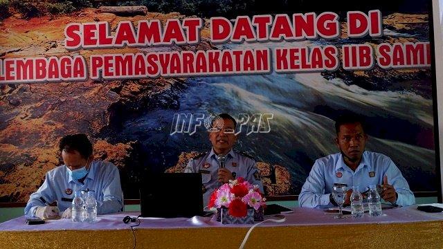 Lapas Sampit Dapat Penguatan Yankomas & Pelayanan Berbasis HAM