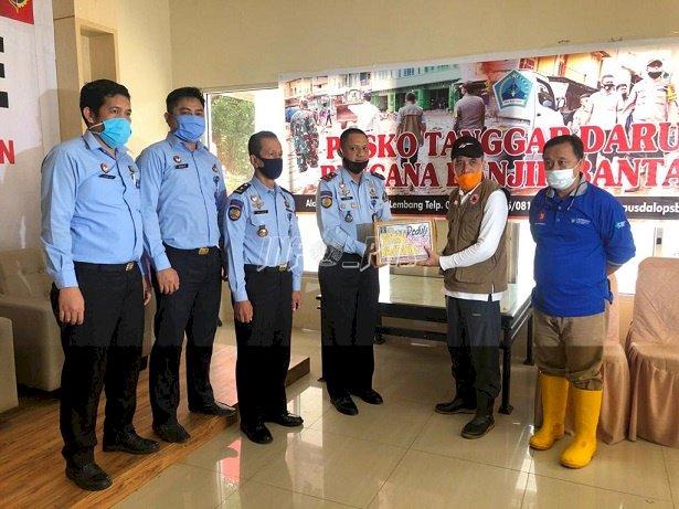 Rutan Bantaeng Salurkan Bantuan Bagi Korban Banjir