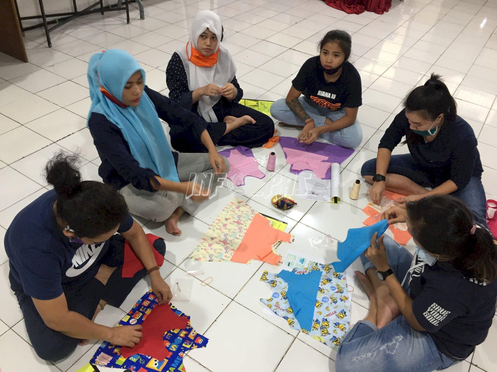 LPP Jakarta Selenggarakan Pelatihan Menjahit Untuk WBP