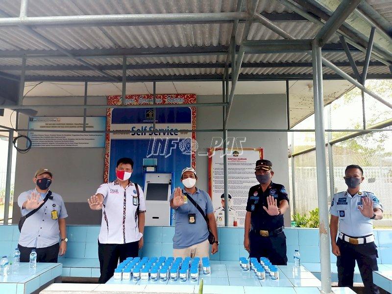 Petugas & WBP Lapas Tanjungpandan Mendadak Dites Urin