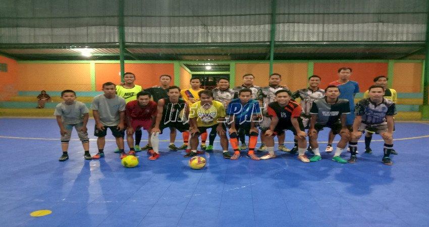 Seru, Sparring Futsal Lapas Muara Teweh vs Masyarakat