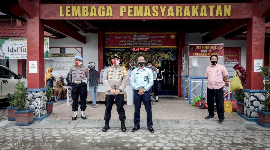 Lapas Sampit Jalin Sinergi dengan Polres Kota Waringin Timur