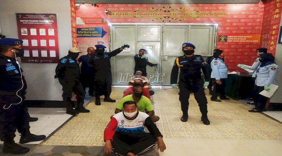 Rutan Ambon Terima 37 Tahanan dari Kejari Ambon