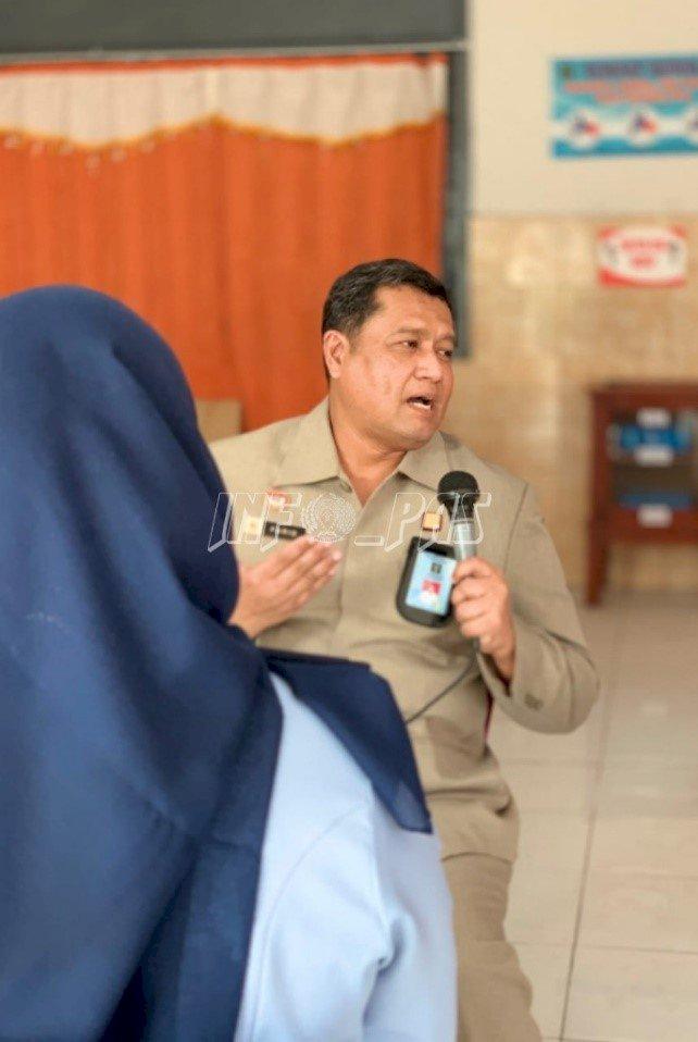 Kadiv PAS Lampung Sambangi LPP Bandar Lampung