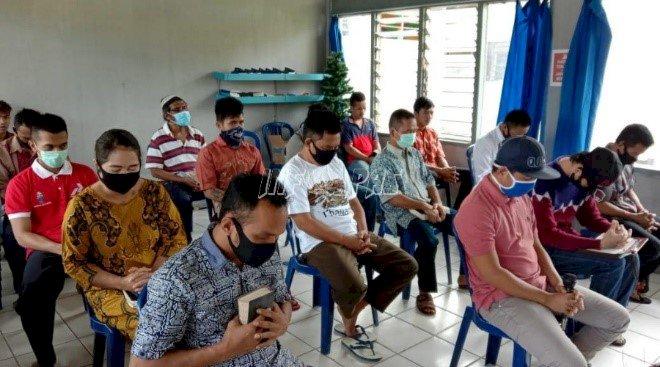 Rutan Buntok Galakkan Pengajian & Ibadah Rutin Online