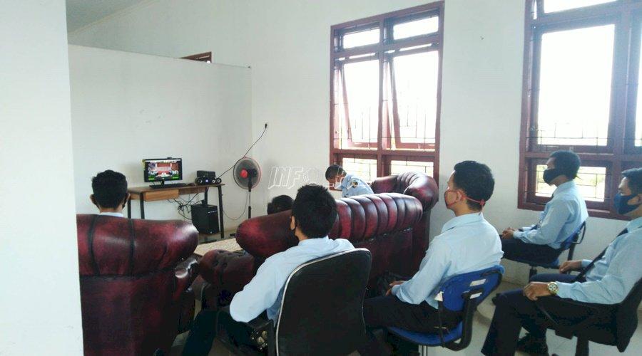 Cegah Pungli & Gratifikasi, Lapas Sukamara Ikuti Penguatan UPP & UPG