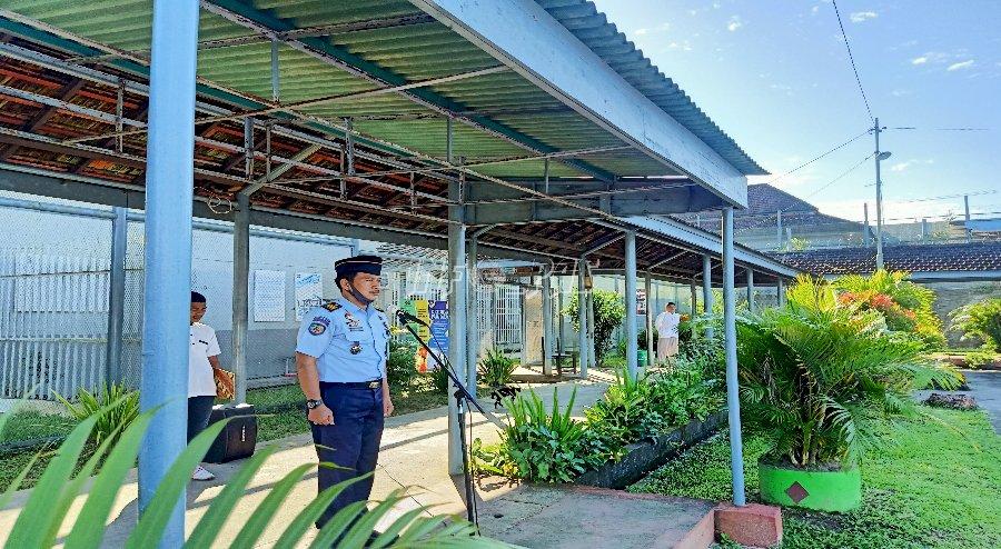 New Normal di Lapas Tanjungpandan, Pembinaan WBP Mulai Dilaksanakan Bertahap