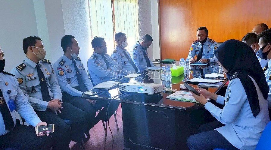 Kumpulkan Seluruh Jajaran, Kepala LPKA Jakarta Bahas Sejumlah Hal