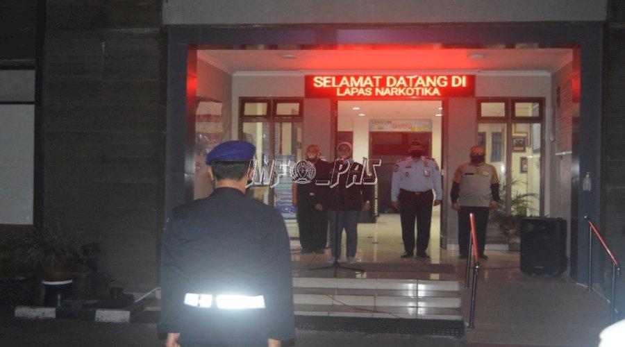 Jalin Sinergi, Satgas Kamtib DIY Gelar Apel Siaga Bersama TNI/Polri