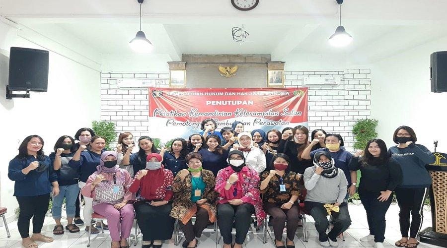 LPP Jakarta Kembali Cetak 40 WBP Bersertifikasi