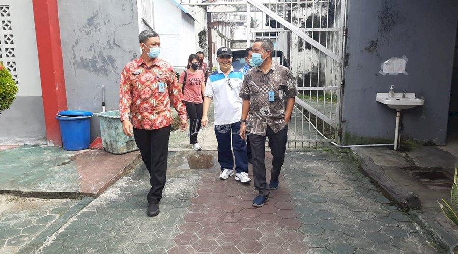 Kadivmin Kalteng Pantau Sarpras di Lapas Palangka Raya