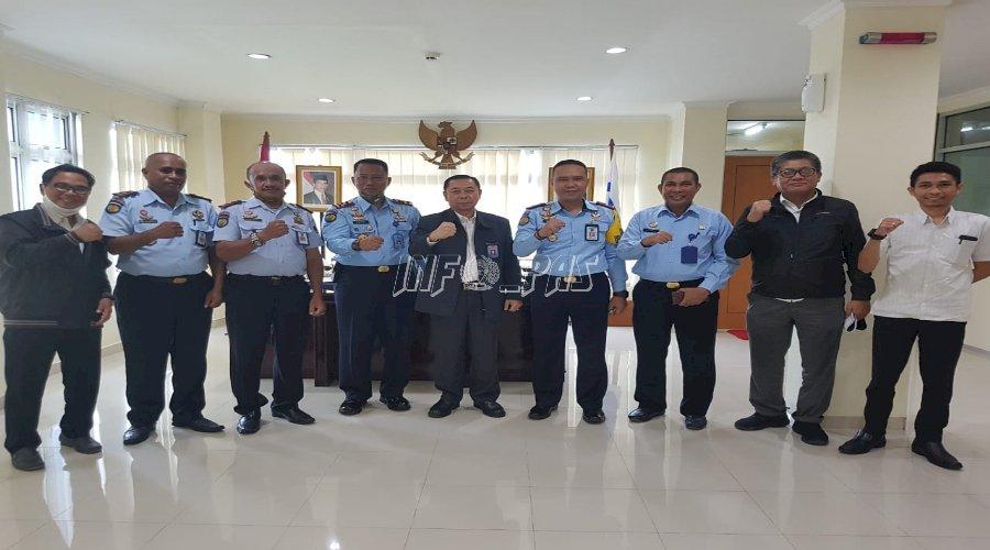 Kepala UPT PAS Wilayah Ambon Sambangi BPKP Maluku