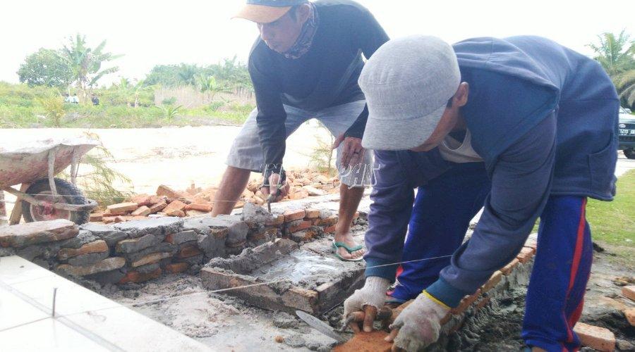 Lapas Sukamara Bangun Jalur Bagi Penyandang Disabilitas