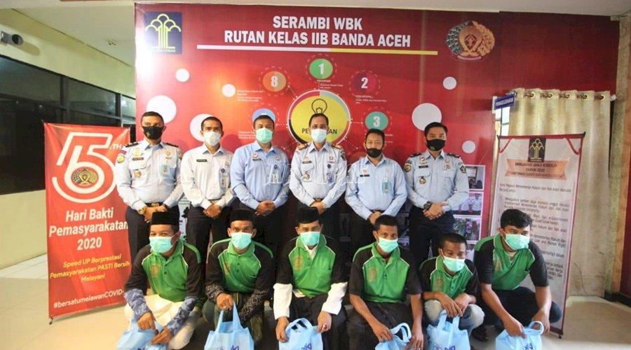 WBP Rutan Banda Aceh Terima Bantuan Pencegahan COVID-19