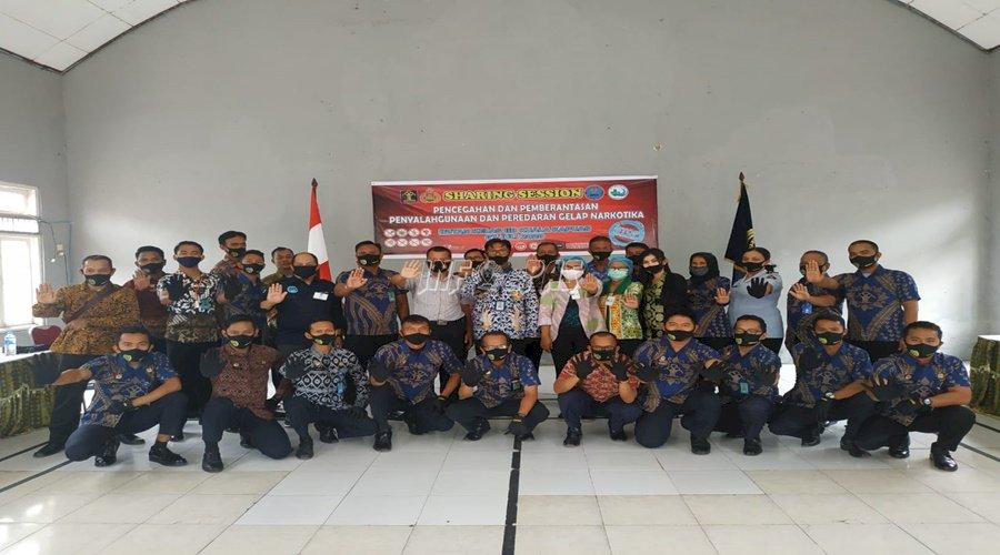 Rutan Kuala Kapuas Deklarasikan Komitmen Melawan Narkoba