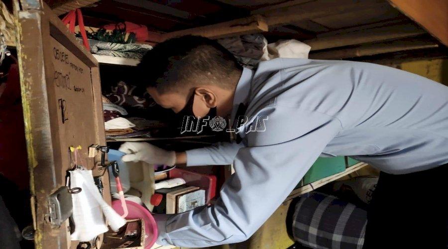 Sidak Blok WBP, Petugas LPN Sungguminasa Sita Barang Terlarang