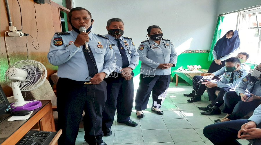 Tiga PK Bapas Palangka Raya Lulus Ujian Kenaikan Jenjang