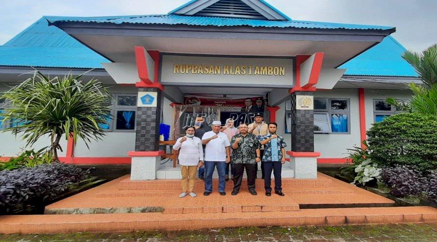 Bintorwasdal, Kadiv PAS Maluku Sambangi Rupbasan & Bapas Ambon