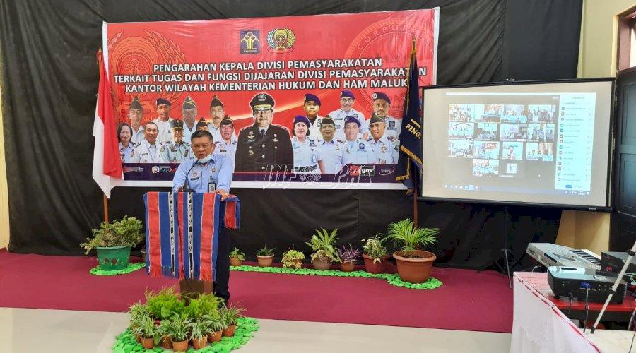 Rapat Konsolidasi Perkuat Pengawasan Jajaran Pemasyarakatan Maluku