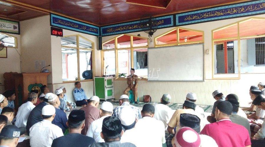 WBP Rutan Bantaeng Ikuti Ceramah Keutamaan Asmaul Husna & Kurban