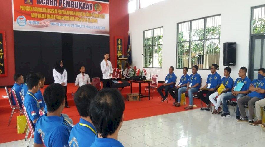 Program Rehabilitasi Sosial Lapas Ambon Masuki Tahap II