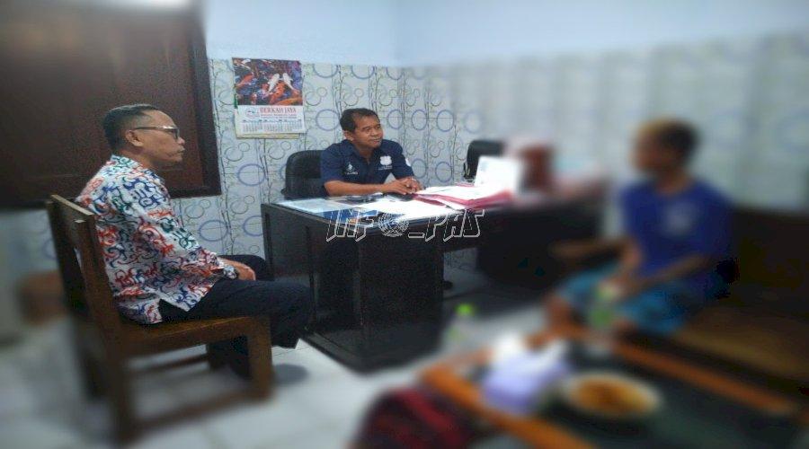 2 PK Bapas Pekalongan Dampingi Pemeriksaan Kasus Anak