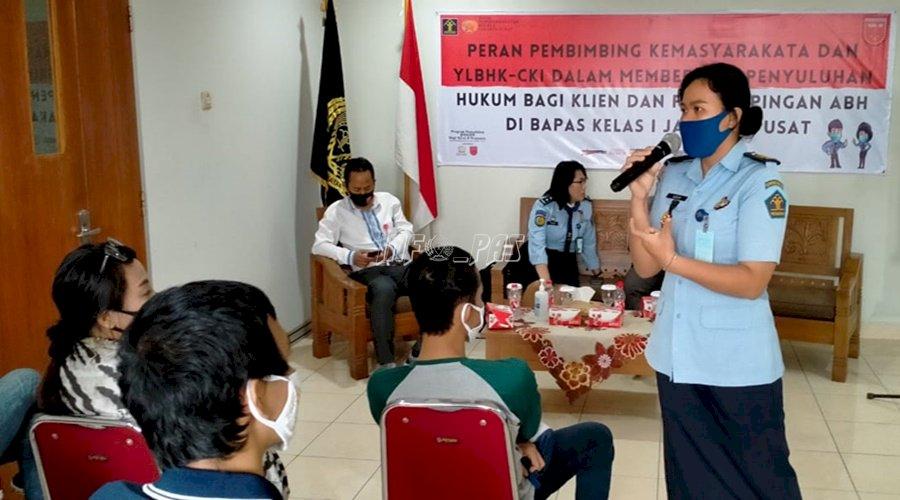 Bapas Jakarta Pusat Gelar Penyuluhan Hukum & Pendampingan ABH