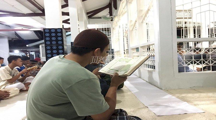 Yasin & Zikir Bergema di Masjid Asyuhada Rutan Balikpapan