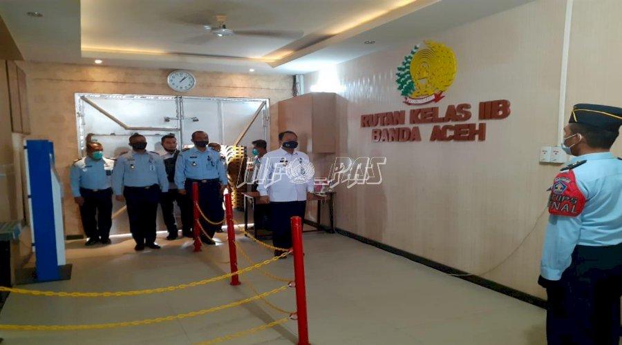 Direktur Bimkemas dan Pengentasan Anak Sambangi Rutan Banda Aceh
