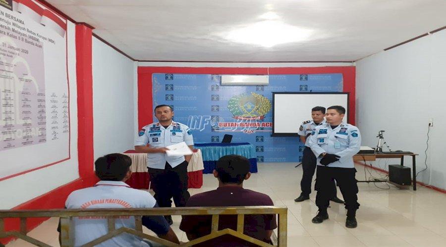18 WBP Rutan Banda Aceh Dapat Asimilasi COVID-19