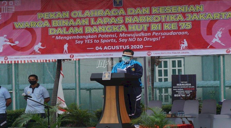 Pekan Olahraga dan Kesenian Semarakkan HUT RI di LPN Jakarta