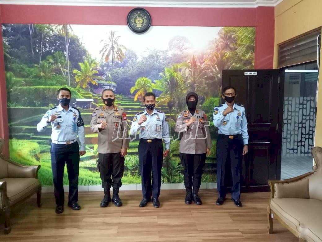 Sinergi dan Koordinasi, Kepala Rutan Yogyakarta Kunjungi Polda DIY