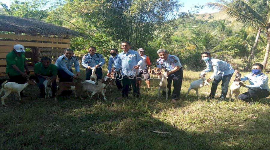 Kadiv PAS Sulbar Dukung Kegiatan Pertanian & Peternakan di Rutan Majene