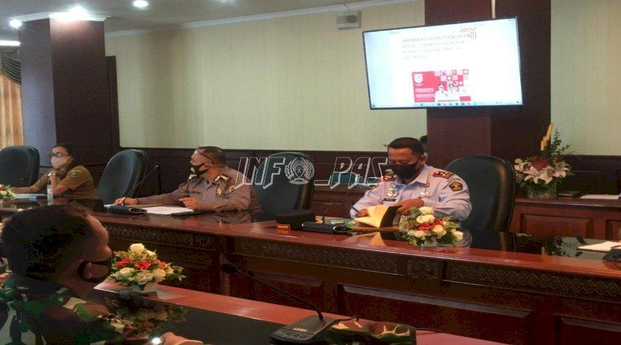 Kalapas Ambon Hadiri Rapat Persiapan HUT ke-75 RI Bersama SKPD Maluku