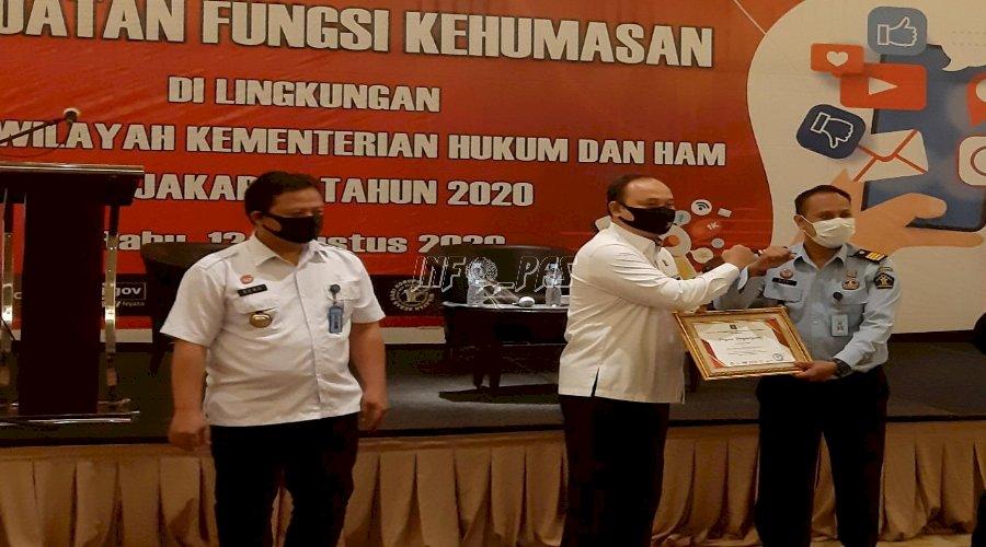 LPN Jakarta Raih Terbaik II Ketegori Pengelolaan Publikasi Informasi