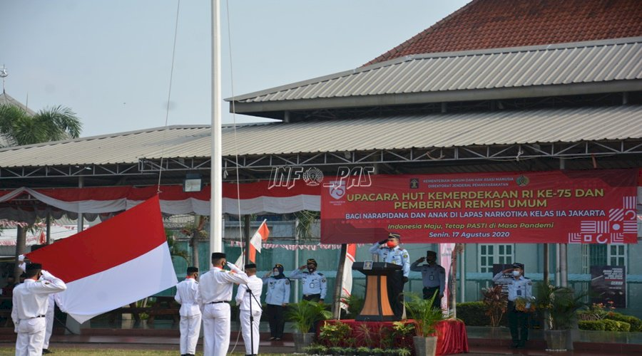 LPN Jakarta Peringati HUT RI dengan Protokol Kesehatan