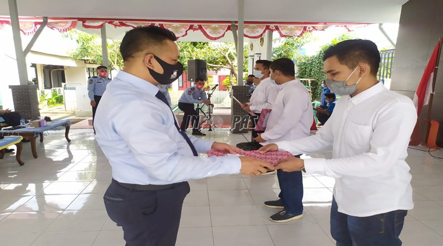 1.608 WBP Lapas Tangerang Terima RU Tahun 2020