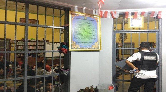 Satops Patnal  Tinjau Kegiatan Pengamanan Lapas Tangerang